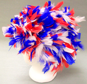 Uncle Sam Feather Wig
