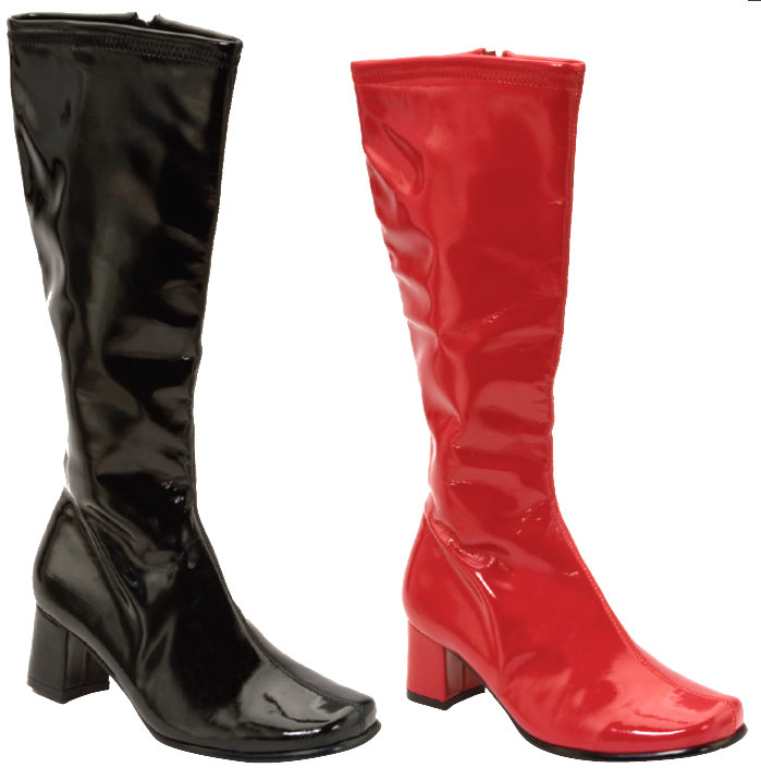 Patent Leather Go-Go Boot